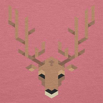 Texlab–Simple Stag–sacchetto di stoffa Pink