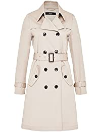 Hallhuber Trench Coat with Pleating