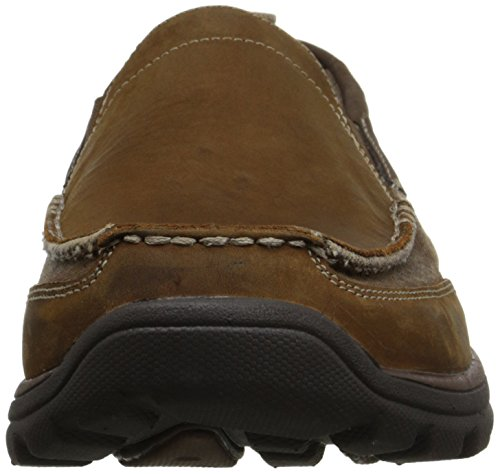 SKECHERS USA Superior Dimos Slip-on Loafer Marrone scuro