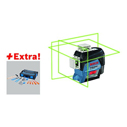 """Preisvergleich Produktbild Bosch 06159940KM Linienlaser """"GEDORE"""" GLL 3-80 CG und BM 1 L-Boxx, 12 V"""
