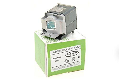 Alda PQ Premium, Beamerlampe 499B056O20 / VLT-HC3800LP für MITSUBISHI HC3200, HC3800, HC3900, HC4000 Projektoren, Lampe mit Gehäuse