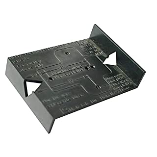 Jig Template for Kitchen, Bedroom, Bathroom Cabinet Hinges and Mounting Plates