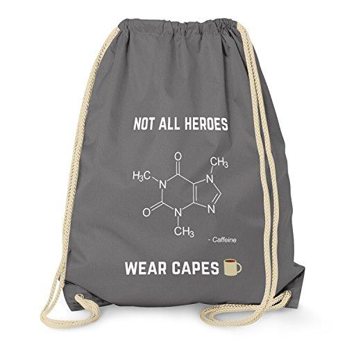 NERDO - Koffein - Not all Heroes wear Capes - Turnbeutel, ()