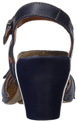 ART 0226 Memphis I Feel, Sandales à Bride à la Cheville Femme Bleu (Blue)
