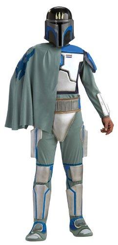 Star Wars Clone Wars Deluxe Herren Kostüm Pre Vizsla Größe (Wars Vizsla Pre Star Kostüm)