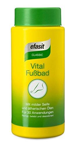 efasit CLASSIC Vital Fußbad, (3x400 g) -