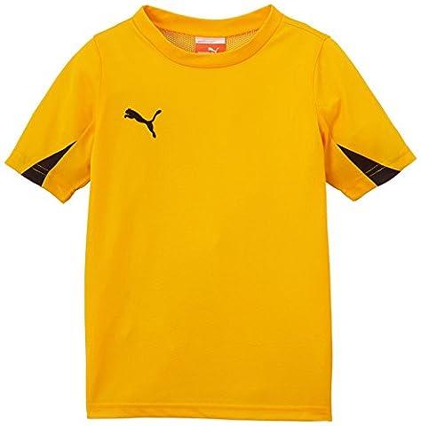 Puma Team Maillot Garçon Team Yellow/Black FR : 10 ans (Taille Fabricant : 140)