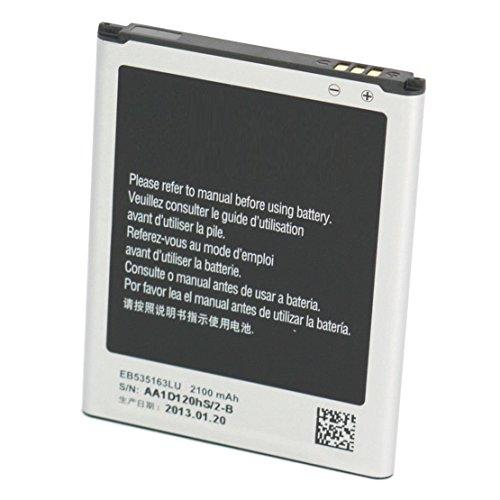 Bateria Samsung Galaxy Grand Neo Neo Plus i9060 i9080 i9082 EB535163LUCSTD Alta calidad 2100 Mha