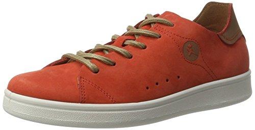 Tamaris Damen 23629 Sneakers Rot (RED NUBUC 570)