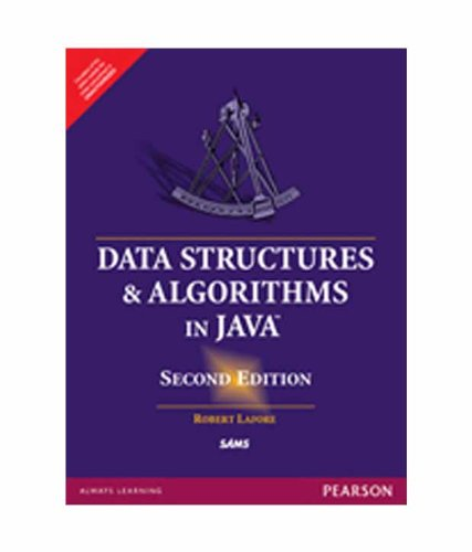 Data Structures & Algorithms in Java, 2e