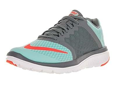Nike Women's FS Lite Run 3 Copa/Hyper Orange/Cl Gry/White Running Shoe 10 Women US