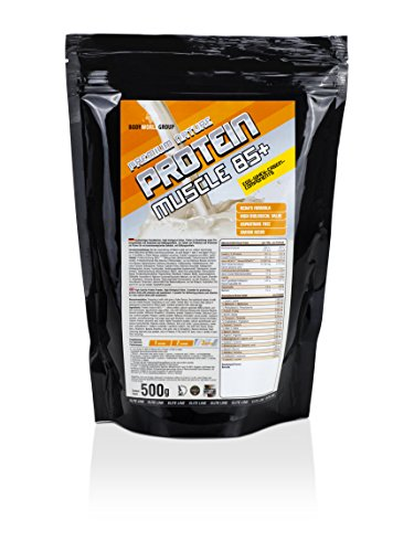 BodyWorldGroup Premium Nature Protein Muscle 85+, Elite Line, Coconut Crisp, 500 g, 1er Pack (1 x 500 g)