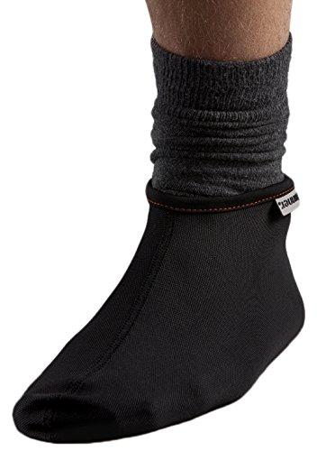 AKAMMAK Mouki sur-Chaussettes Mixte Adulte, Noir, FR : S (Taille Fabricant : XS/S)