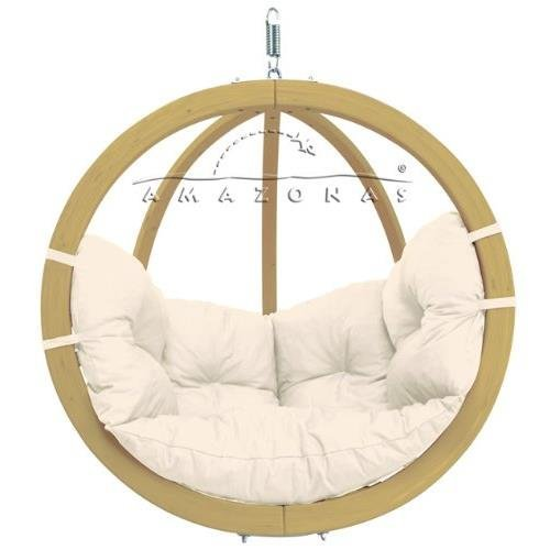AMAZONAS Globo Chair Natura Balancelle en bois: Amazon.fr: Jardin