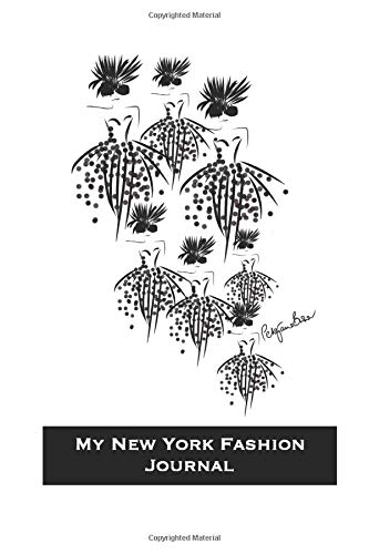 My New York Fashion Journal: Stylishly illustrated black and white cover makes the perfect notebook for your New York city break and exciting shopping ... grid paper to add that extra touch of style.