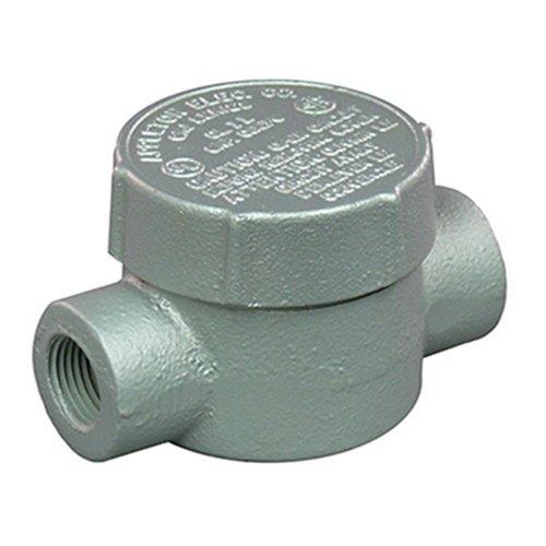Appleton-grjc75feed-thru Kabelschutzrohr Outlet Box, gefährlichen Standort, Stil C, Eisen, 3/10,2cm Hub -