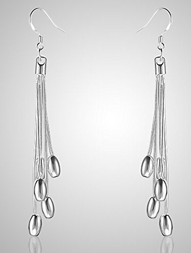 Drop-leaf Top (SaySure - silver plated copper Nice design earring.TOP quality)