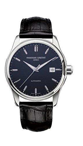 Herren Binär Automatik Uhr mit Leder Armband FC-303B5B6 ()