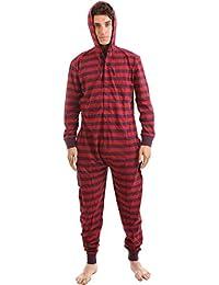 Pijama de Una Pieza Adulto Onesie Pijamas Entero sin Pies – Jumpsuit Mono XS-XXL