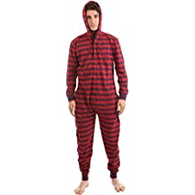 Funzee Pijama de Una Pieza Adulto Onesie Pijamas Entero sin Pies – Jumpsuit Mono XS-