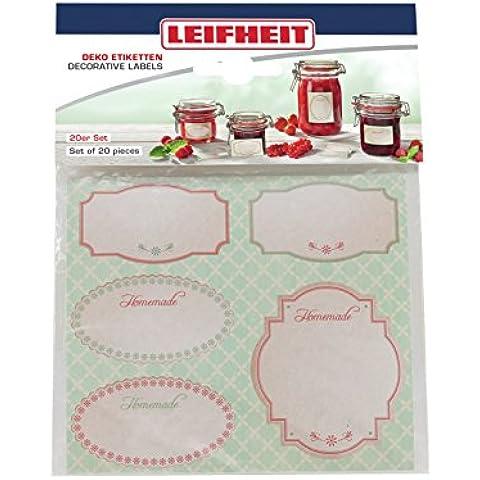 Leifheit 3217decorativo etichette Set, carta,