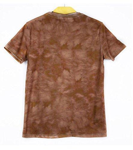 Pretty321 Men Women Unisex Hip Hop 3D Spoof Horse Creative Couples T-Shirts Amazon