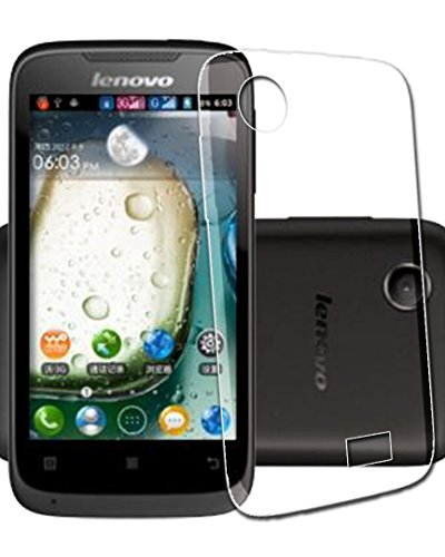 ECellStreet Exclusive Transparent Back Case Cover Back Cover For Lenovo A369i  available at amazon for Rs.210