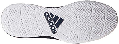 Adidas Performance Lumière Em Up Chaussures 2 de basket-ball, blanc / noir / gris onyx, 6,5 M nous Light Onix Grey/Collegiate Navy/White