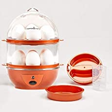 Kriya Enterprises Perfect Electric Egg Cooker for Boiled Eggs, Poached Eggs and Succulent Omelets