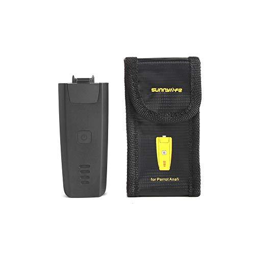 Preisvergleich Produktbild shangjunol Eine Packung(s) Explosionsgeschützte Batterie Schutztasche LiPo Sichere Schwarz Aufbewahrungstasche für Parrot ANAFI Drone