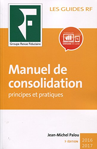 Manuel de consolidation: Principes et pratiques.