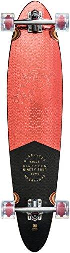 Globe Pinner Classic Long Board, red Foil, L