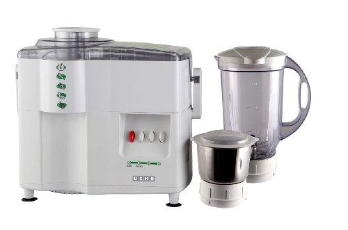 Usha 2744 450-watt Mixer Grinder Juicer (white)