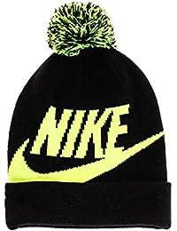 14732aface8 Kids  Nike Swoosh Pom Beanie Hat and Gloves Set