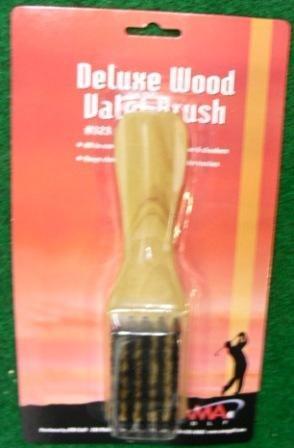 Valet en bois Brosse w/poignée de corne et Spike Clé