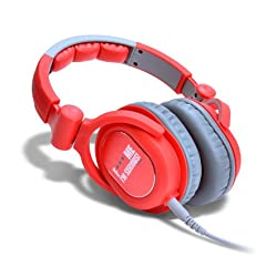 iDance Fxxx ME - FDJ 400 Headphone (Red/Grey)