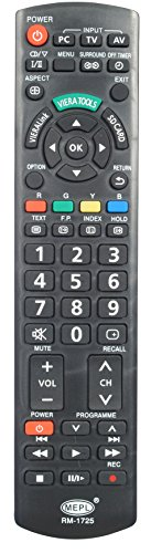 PANASONIC LED / LCD TV ALL MODELS SUPPORTED REMOTE CONTROLLER  available at amazon for Rs.295