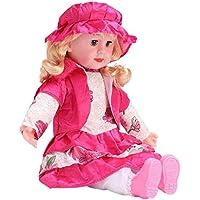 Shree Hari Enterprise Cute Looking Musical Singing Sift Doll Big Size Singing Songs Soft Girl Baby Doll Toy (60 cm…