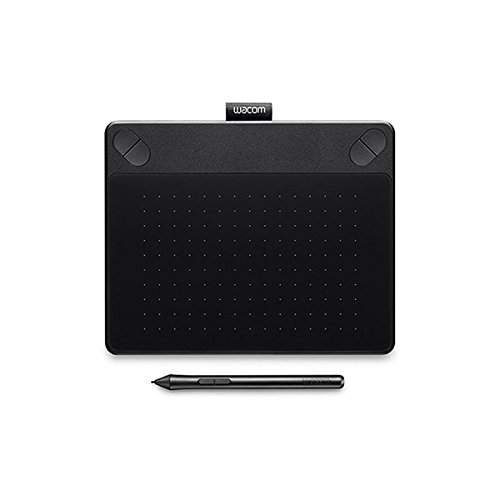 Wacom CTH-490/K0-CX Small Art Pen and Touch Tablet(7 inch), Black