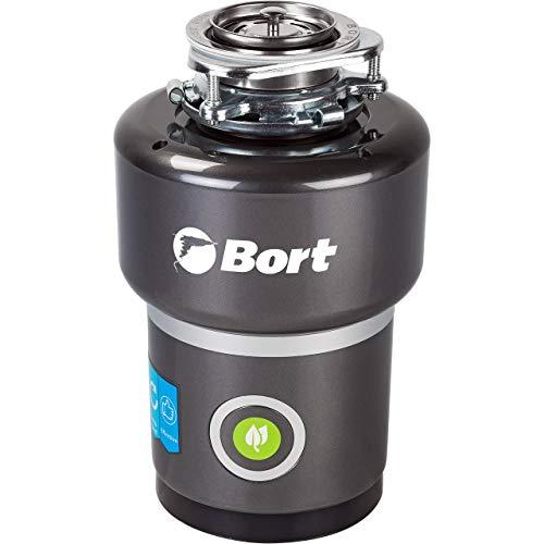 Bort TITAN 5000 Dissipatore per rifiuti. 1400 ml, 560 W, protezione da surriscaldamento, sovratensione e sovraccarico, protezione dal rumore, spegnimento automatico, alte prestazioni.
