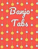 Banjo Tabs: Schreibe deine eigene Banjo Musik auf! | Banjo Tabs für Anfänger | Banjo Notizbuch | Leere Notenblatt mit Banjo Tabulatur für Banjo Lieder und -akkorde