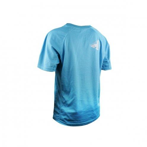 T-Shirt RAIDLIGHT Outdoor Academy Electric Blue Blau