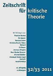 Zeitschrift für kritische Theorie / Zeitschrift für kritische Theorie