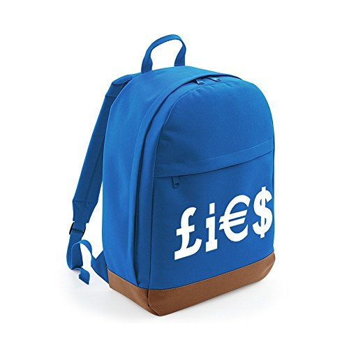 money-lies-anti-capitalism-capitalist-print-backpack-unisex-rucksack-bag