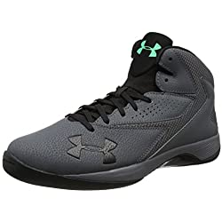 Under Armour Ua Lockdown, Zapatillas de Baloncesto Hombre, Gris (Rhino Gray 076), 45 EU