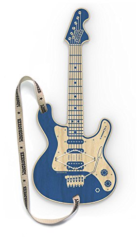 Wood Rocker, the Smart Guitar - incluye app: este funciona con tu guitarra hinchable Apple iPhone u iPod Touch a partir iOS8