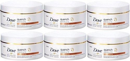 Dove Advanced Hair Series Quench Absolute intense Replenishment Mask 200ml–6Stück