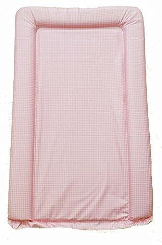 Filles en PVC de changement/Tapis à langer–carreaux vichy rose