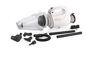 Black + Decker VH802 800-Watt Vacuum Cleaner and Blower with 8 Attachment (White)