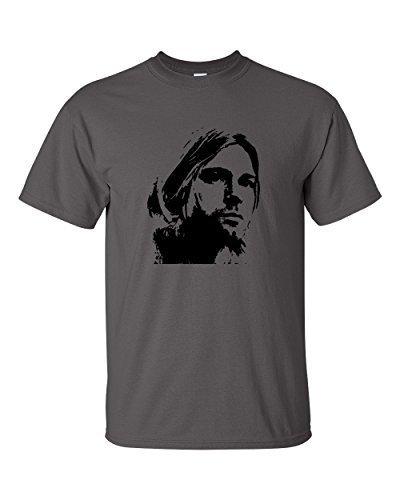 Kurt Cobain Nirvana T-Shirt Anthrazit